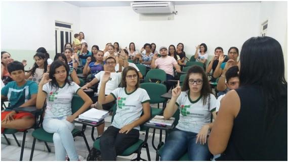 IFS Campus Glória inicia turma do Curso de Extensão em Libras